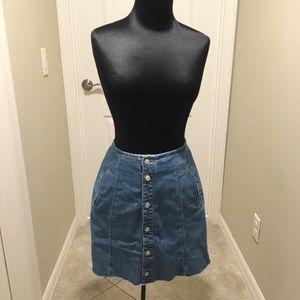Reformation x Liz Wear vintage Denim skirt